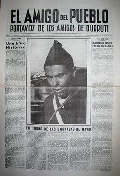 Buenaventura Durruti en El Amigo Del Pueblo
