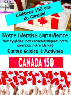 French Immersion: Celebrate Canada 150 with your students! If you live away from Canada and want to discover our great country through its symbols and characteristics then this resource is for you too! Late Primary and Junior Grades 66 READY-MADE slides to support your Canada 150, French Immersion, Social Studies, Students, Symbols, Education, Country, Live, Socialism