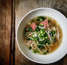 I come back to this time and time again. Vietnamese Pho is one of the most nourishing foods for the soul and for well being. Yep it takes some making but it also freezes really well. Will put the recipe link in bio. You can save oodles of time using a bought bone broth. Leave the meat out no problem. . . . . . . . . .  #foodwriting  #foodwriter #elainelemm #onmytable #lemmonfood #lovemyjob #cookerywriter #pinthis  #pho #vietnamesefood #healthy #nourishingfood #goodforthesoul #ginger…