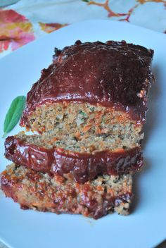Turkey Meatloaf: you could likley use half the ketchup and sugar! Tastes great!