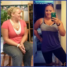 My client Kassie and her amazing transformation!