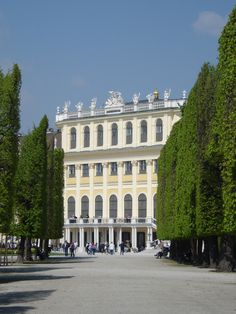 Vienna, Austria Schönbrunn Palace - I lived by here the summer I studied abroad.