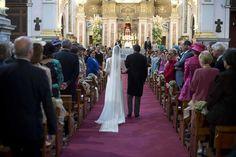 Vestido realizado por Teresa Palazuelo. La boda de María http://teresapalazuelo.com/BLOG/la-boda-de-maria/