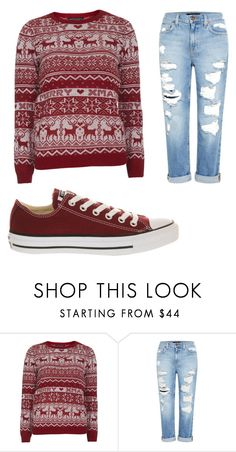 """""""Untitled #171"""" by sierrapalmer10 on Polyvore featuring Dorothy Perkins, Genetic Denim and Converse"""