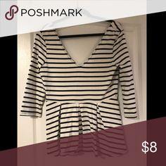 Peplum top Peplum top worn once Victoria's Secret Tops Tees - Long Sleeve