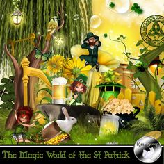 kit the magic world of the St Patrick by kittyscrap