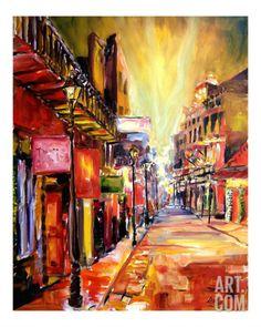 Bourbon Street Dazzle Giclee Print by Diane Millsap at Art.com