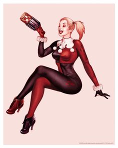 'Harley Quinn' (Comic Unmasked Variant Edition) by John Keaveney Harley Quinn Drawing, Harley Quinn Cosplay, Joker And Harley Quinn, Property Of Joker, Gotham Girls, Batman Universe, Dc Universe, Dc Comics Characters, Anime Characters