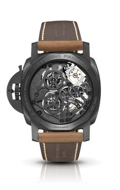 Lo Scienziato - Luminor 1950 Tourbillon GMT Ceramica PAM00528 - Watches Officine Panerai