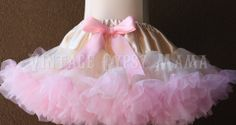 FREE SHIP Custom Made Ivory And Baby Pink by VintageGypsyMama, $65.00