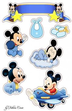 New baby cards photo 43 ideas Bolo Mickey Baby, Baby Mickey Mouse Cake, Festa Mickey Baby, Theme Mickey, Minnie Baby, Baby Mouse, Mickey Mouse Birthday, Mickey Minnie Mouse, Baby Birthday