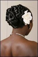 African American Wedding Hairstyles & Hairdos: July 2009