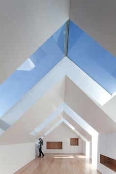 I love this house by Barbosa & Guimarães in Portugal. I want to live here and all attics should look like this.