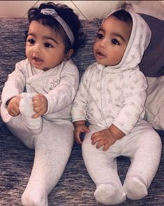 Cute Mixed Babies, Cute Black Babies, Black Baby Girls, Beautiful Black Babies, Cute Twins, Cute Baby Girl, Cute Babies, Black Twin Babies, Beautiful Children