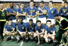 Brasil Campeon del Mundo 1958