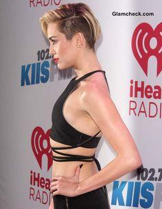 Miley Cyrus Pixie Hair