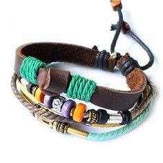 Jewelry Bangle bracelet women Leather Bracelet by braceletcool, $8.50