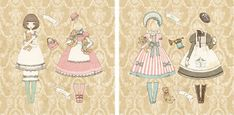 Lolita Paradise: Muñecas para vestir (1)