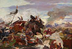 Death in battle [...] by Jozef Hanula, 1895/1896. Slovak national gallery, CC BY