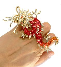 Dragon ring by Butler and Wilson @ zentosa