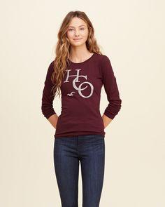 Hollister, R$ 14,40 Hollister, Graphic Sweatshirt, Sweatshirts, Tees, Sweaters, Fashion, Blouses, Moda, T Shirts