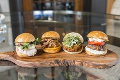 July is Culinary Arts Month! Savory sliders at Tom's in Cassique at the #Kiawah Island Club kiawahisland.com