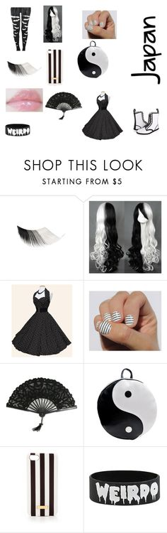 """What to wear"" by scorpio-queen ❤ liked on Polyvore featuring Chicnova Fashion, Henri Bendel, Hot Topic and Dr. Martens"