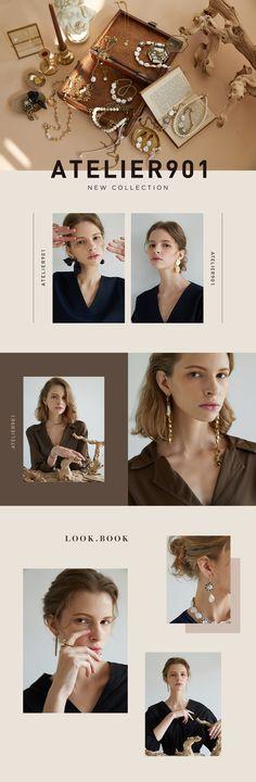 WIZWID:위즈위드 - 글로벌 쇼핑 네트워크 Ad Design, Layout Design, Branding Design, Fashion Website Design, Lookbook Design, Email Design Inspiration, Newsletter Design, Wordpress, Photoshop Design