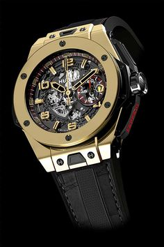 Hublot Big Bang Ferrari Magic Gold.