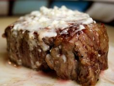 Filet Mignon with Champagne Blue Cheese Reduction | Tasty Kitchen: A Happy Recipe Community!