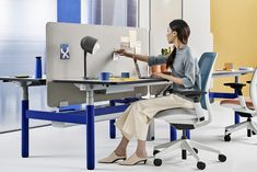 The leading manufacturer of furniture for offices, hospitals, and classrooms. Our furniture is inspired by innovative research in workspace design. Innovative Research, Asia, Adjustable Height Desk, Workspace Design, Office Spaces, Organizations, Office Furniture, Reuse, Flexibility