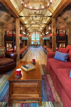 Beautiful space for many to sleep and share- Northern Wisconsin Bunk House - John Kraemer & Sons