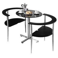 $103  Dorel Living Devyn 3 Piece Faux Marble Pub Dining Set, Black | Church  Decoartions | Pinterest | Pub Dining Set, Marbles And Living Rooms