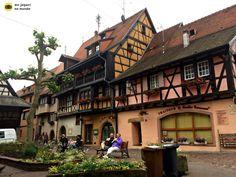 Vila Eguisheim Alsacia