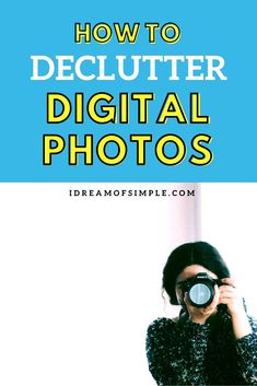 Are your digital photos all over the place? If so, you need to read this guide to declutter and streamline your digital pictures with ease. You'll not only organize your digital life but you'll also be able to easily create a memorable photo album with your organized photos! Photo Book, Picture Photo, Declutter, Organize, Book Projects, Minimalist Living, Pictures, Photos, How To Memorize Things