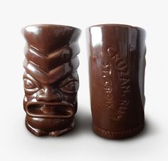 Parties are more enjoyable with these Tiki Cups made by Merch&Effect for Beam Global's Cruzan Rum.
