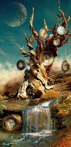 Everything flows -At times time hangs heavy at other times it flyies