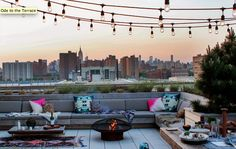 Rooftop   http://www.refinery29.com/eye-swoon/40#slide14  NEXT: A Garden Party Reaches The Height Of Elegance