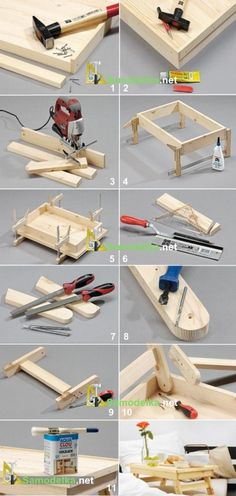 Diy Wood Projects, Wood Crafts, Woodworking Projects, Diy And Crafts, Wood Pallet Furniture, Wood Pallets, Diy Furniture, Wood Design, Diy Design