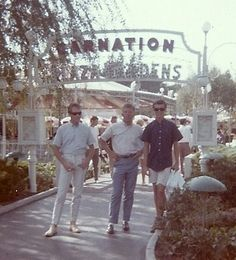 Carnation Plaza Gardens---Summer of 1963