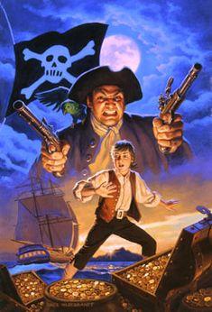 Marvel Illustrated: Treasure Island Vol 1 1 Pirate Talk, Pirate Life, Treasure Island Characters, Black Sails Starz, Panini Comics, Pirate Boats, Comic Art Community, Pirate Treasure, Marvel