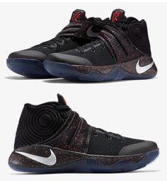 big sale 3fe1c 8cdaa NIKE KYRIE 2 EP II IRVING BLACK SPECKLE CRIMSON BASKETBALL 852399 006   angelusdirect  angeluspaint