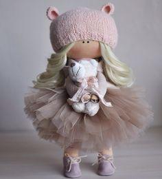 Discover thousands of images about Olga Pretty Dolls, Cute Dolls, Beautiful Dolls, Best Baby Doll, Baby Dolls, Pink Doll, Waldorf Dolls, Soft Dolls, Felt Toys