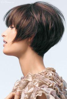 shortish hairstyles