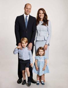 Duke & Duchess of Cambridge Christmas Card