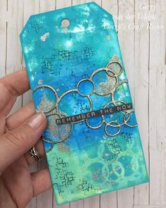 Today I have a mixed media tag with Distress Oxide ink and lots of layers and I use gorgeous WOW embossing powder to create fun effects and colour the die cut circles a link to my YouTube channel is in my bioI love to meet you there - - - #wowembossingand #wowembossingpowder #handmade #pretty #handcrafted #colours #exciting #surprise #lovecolours #distressoxide #makersmake #homemade #homemadecard #glitter #gerryscraftroom #crafts #crafting #papercrafting #papercrafts #technique #video…