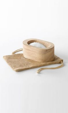Grain Salt Cellar a modern wood salt dish by fixstudio on Etsy Kitchen Games, Natural Living, Wood Grain, Home Accessories, Home Goods, Grains, Reusable Tote Bags, Etsy, Dishes