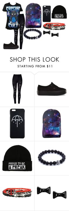 """""""kljhdghjkl/"""" by annie-hall-barton ❤ liked on Polyvore featuring Vans and Marc by Marc Jacobs"""