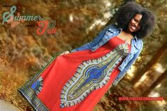"""We just stocked this awesome """"Henna"""" shade in the MAHLIA DASHIKI DRESS. It's the perfect transition into Fall when paired with your favorite denim jacket. We also re-stocked it in """"Mahogany"""" and """"Haute Marrakesh"""", and the THIGH HIGH DASHIKIS in """"Tumeric"""" and """"Ebony"""", are also back! Enjoy!"""