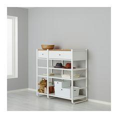 ELVARLI 2 sezioni IKEA Puoi adattare e completare questa soluzione a giorno in base alle tue esigenze, creando una combinazione personalizzata.